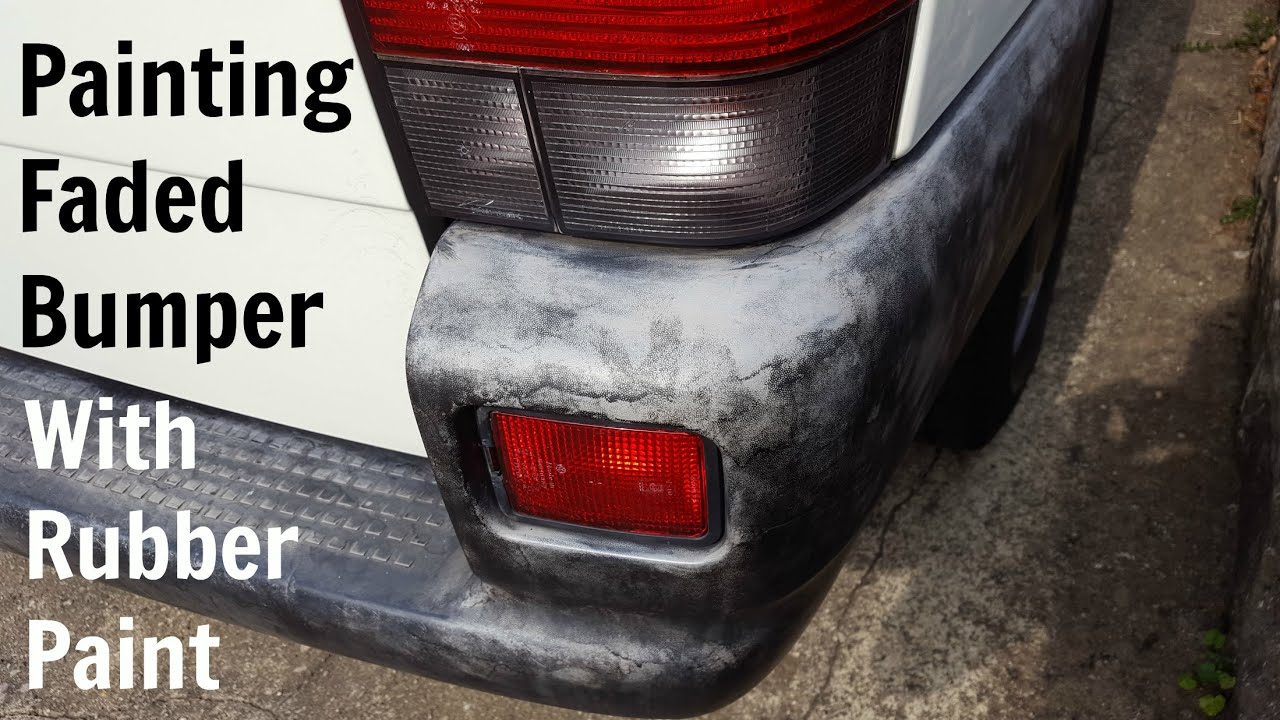 Spray Paint For Car Bumpers