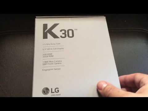 LG K30 Video clips - PhoneArena
