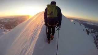 Climbing Mont Blanc 14 - Gouter Route/Voie Normale - Lebanon