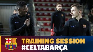 Video Last workout before the cup match against Celta download MP3, 3GP, MP4, WEBM, AVI, FLV Mei 2018