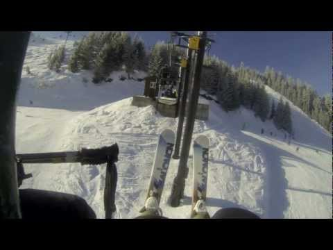 BradyCam on Skis