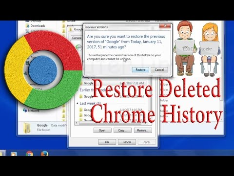 Recover deleted internet history- All responsible parents