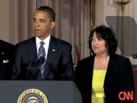 President Obama nominates federal judge Sonia Sotomayor for the U.S. Supreme Court - CNN