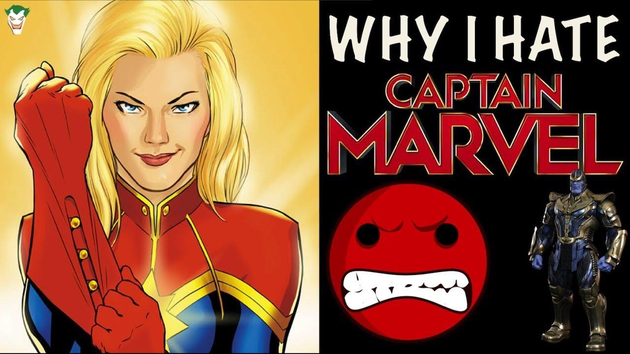 Captain America Hates Captain Marvel