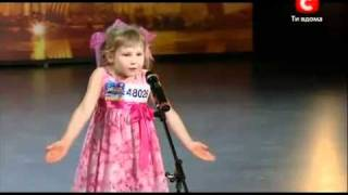 Удивительная девочка порадовала всех на шоу талантов