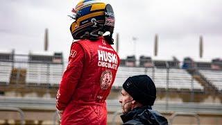 IndyCar-testernas första dag bjöd på regn, regn och mer regn. Man k...