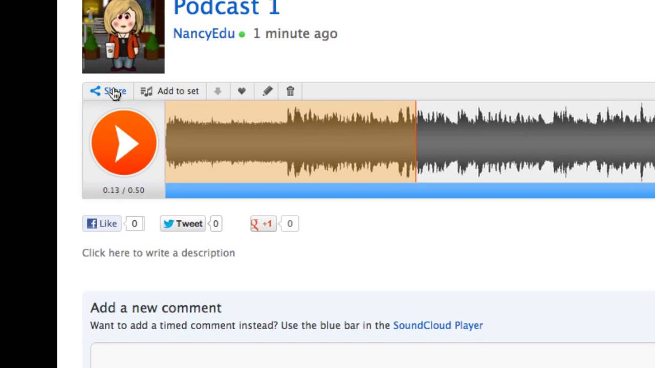 Soundcloud player embed soundcloud into weebly mp4 youtube