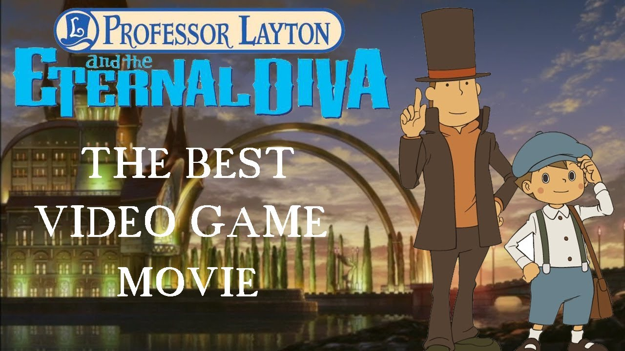 Professor Layton And The Eternal Diva Still The Best Video Game