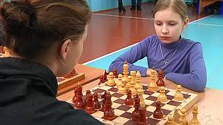 Районный турнир школьной лиги по шахматам