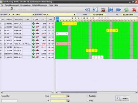 MyRent, the car rental software