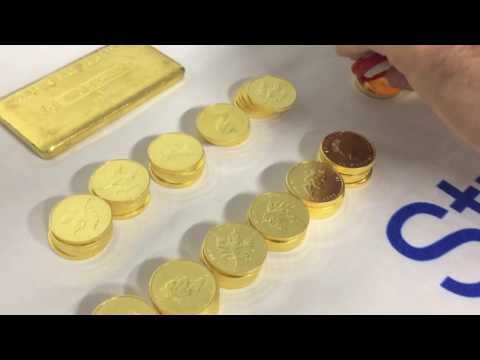 Gold Unveiling - Maple Leaf Gold Coins From The Royal Canadian Mint