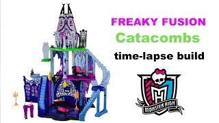 Catacombs Play Set Freaky Fusion Time Lapse Build - Monster High