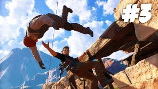 THE MOST EPIC CHASE!!   Uncharted 4 - Part 3