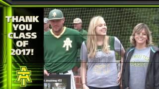 Tech Baseball - 2017 Senior Day