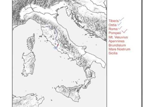 NLE1 Geography -Ancient Italy