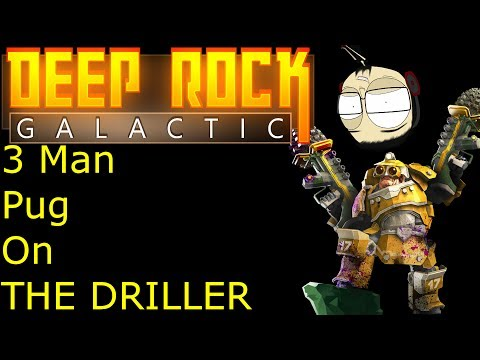 Deep Rock Galactic - Closed Alpha .4.0 Gameplay | 3 Manning fun with explosions!