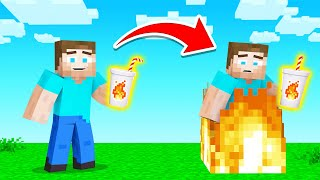 We Added DRINKS To MINECRAFT! (hilarious)