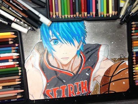 Speed.Drawing - Kuroko : Kuroko No Basket