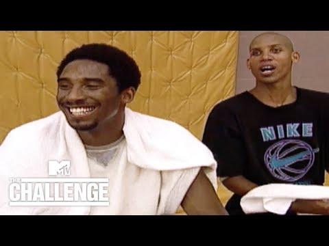 Kobe Bryant Teams Up W/ Reggie Miller (RARE FOOTAGE) | Real World/Road Rules Challenge