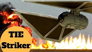 STRONGER, FASTER but is it BETTER?  - TIE Striker - Star Wars Ships & Vehicle Lore Explained