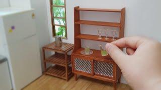미니어쳐 그릇장 만들기 Miniature Cabinet…