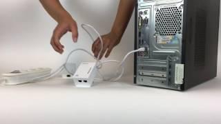 7. Installatie van een AV500-600 powerline oplossing met Wi-Fi
