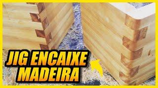 Gabarito para Encaixe em madeira tipo de...