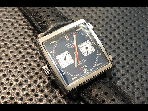 The TAG Heuer Monaco Wristwatch: A Quick Shabazz Review