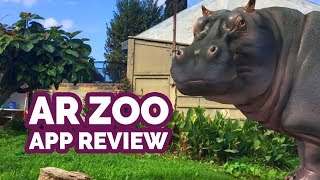 AR Zoo Animal World Review (iOS) - Realistic Virtual Animals in Augmented Reality