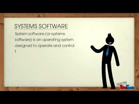 Systems and Application Software