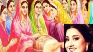 Kala Doria Kundey Naal Aria, Punjabi Folk Song By, (( Naheed Akhter ))