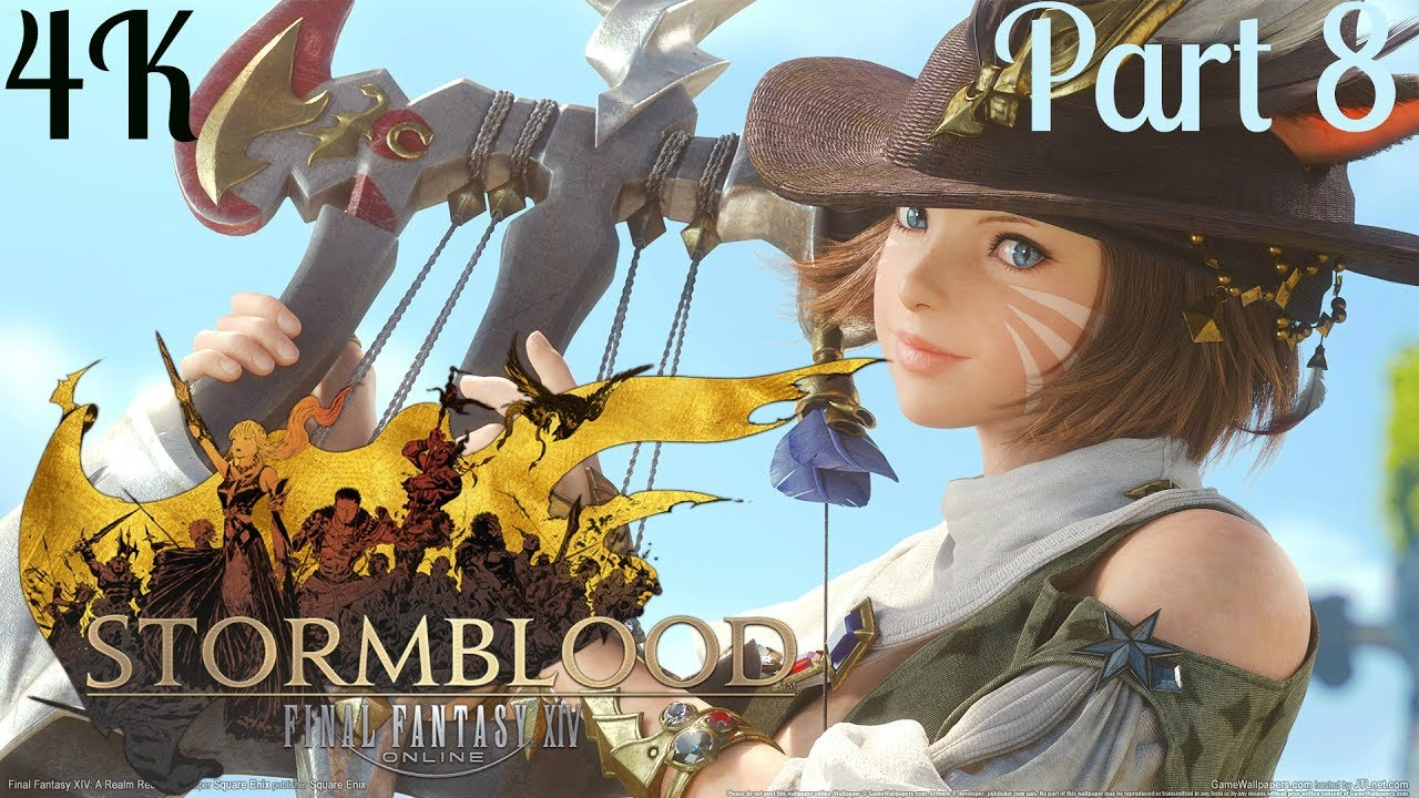 Final Fantasy XIV PS4 PRO 4K: Stormblood - Bentbranch Meadows Part 8