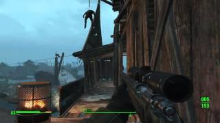 Самый мощный дробовик Fallout 4 бешенный урон
