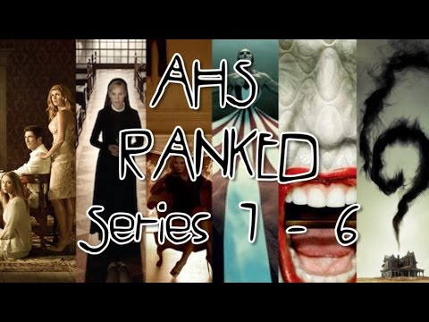 American Horror Story RANKED | Season 1 - 6