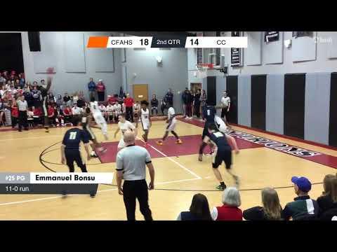 Cape Fear Academy vs Coastal Christian Game Highlights   Jan  22, 2019   Cape Fear Academy Hi highli
