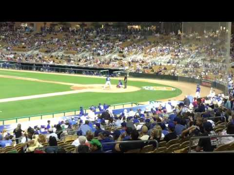 SNEAKING INTO THE DODGERS' CAMELBACK RANCH IN THE 8TH (Arizona Spring Training Day 1)