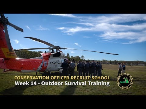 Outdoor Survival Training - Week 14: Michigan Conservation Officer Recruit School 8 (2017)