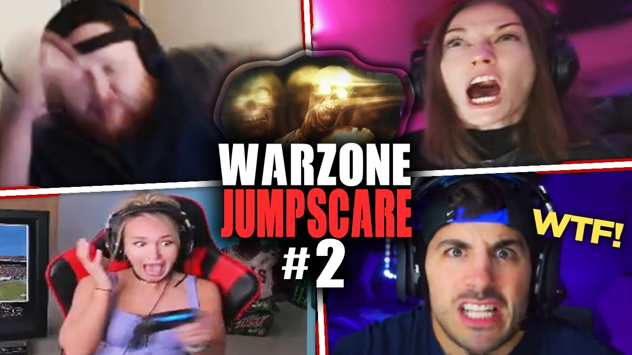 Hilarious Warzone JUMPSCARE Moments