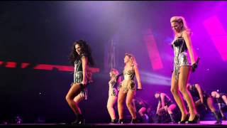 Girls Aloud - Wake Me Up/Jump [Ten: The Hits Tour 2013 DVD]
