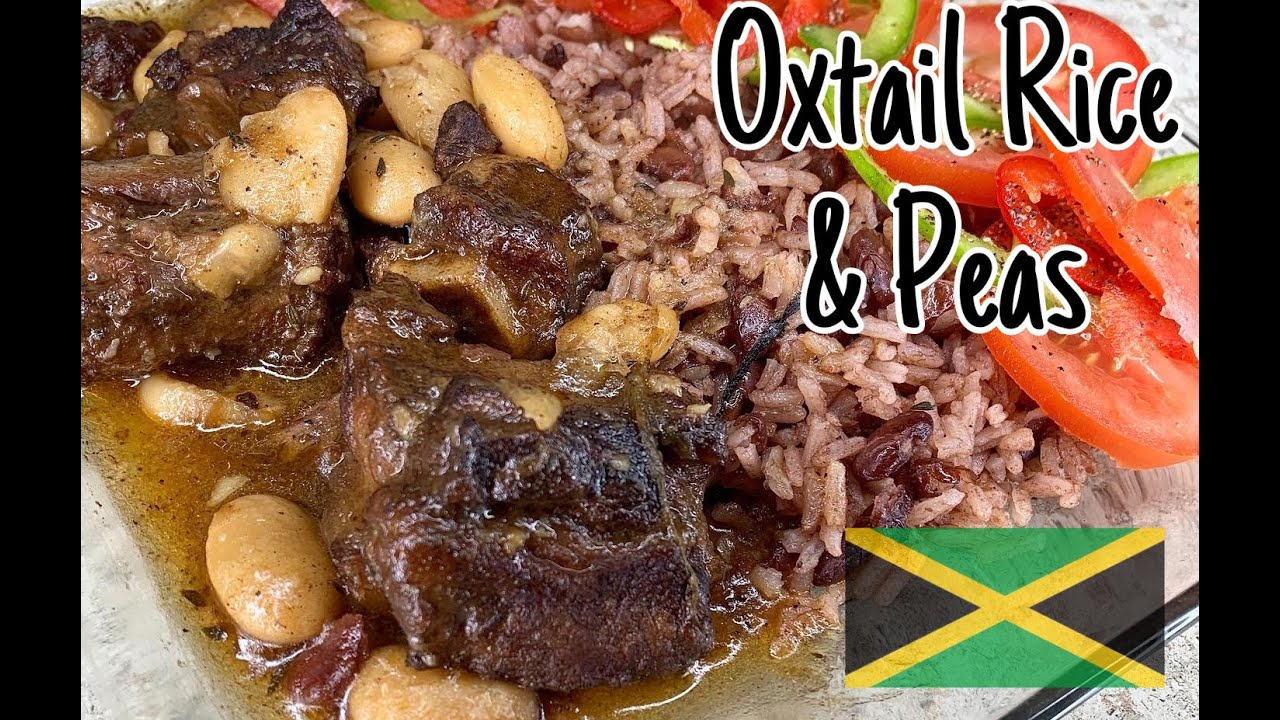 how to make oxtails with rice and peas in under 10 minutes