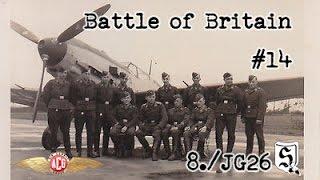 "IL-2 Cliffs of Dover - ACG ""Battle of Britain"" Mission 14 [GERMAN COMS]"