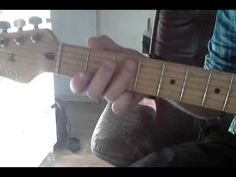 F Minor Arpeggio Guitar Lesson