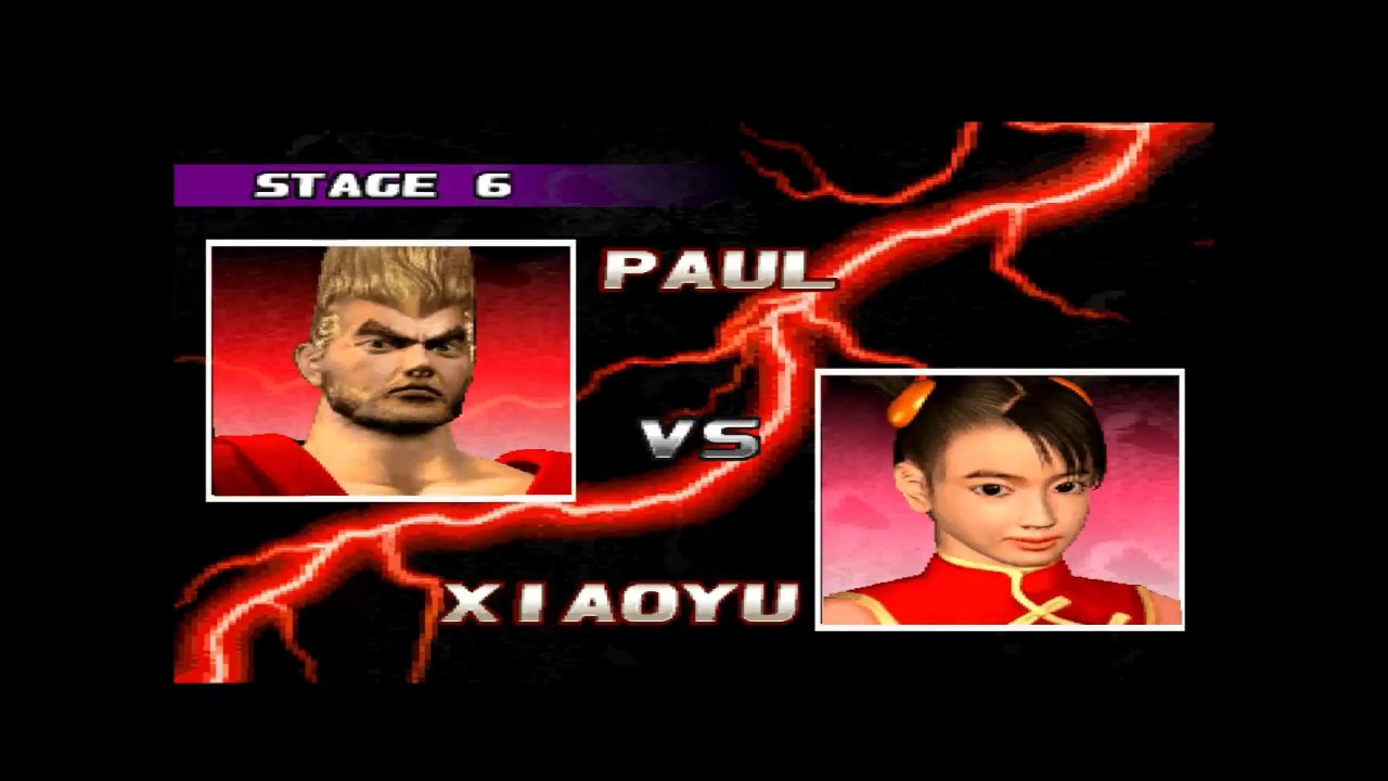 Tekken 3 - Paul - Arcade - Hard