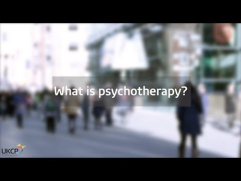 What is psychotherapy? Mp3