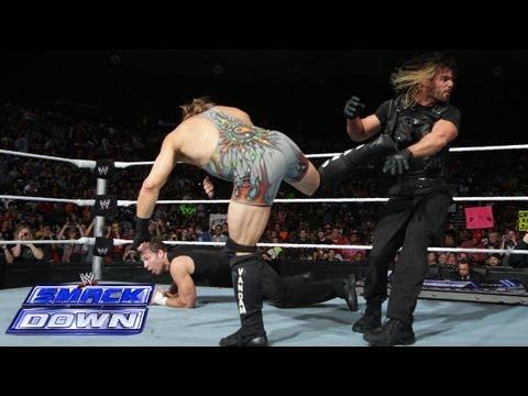 Triple H stops an 11-on-3 Handicap Gauntlet Match: SmackDown, Sept. 20, 2013