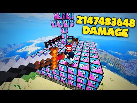2 MILLIARDEN SCHADEN SCHWERT | LUCKY BLOCKS XXL KING - Видео из Майнкрафт (Minecraft)