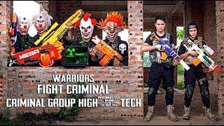- GUGU Nerf War Two Warrior CID Dragon Nerf Guns Fight Criminal Group Mask Nerf Mod
