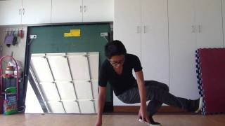 How to Breakdance:  2 Step Baby Swipe Tutorial Guide