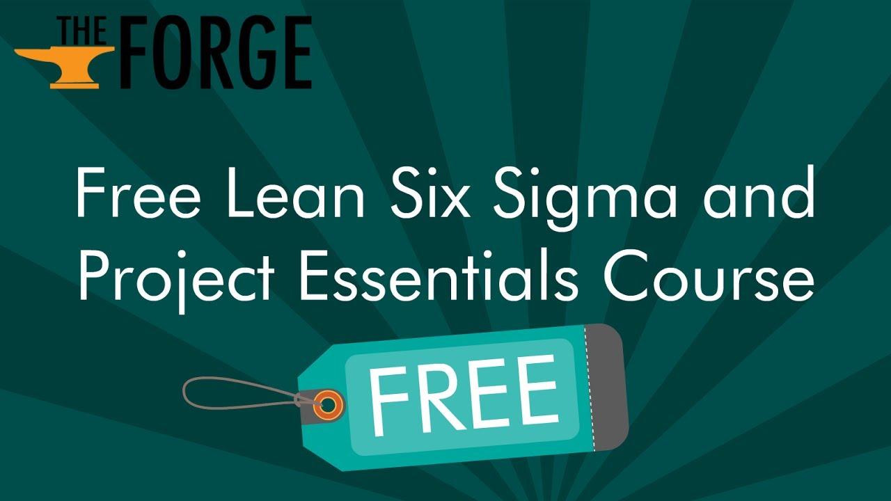 Free Lean Six Sigma Training Online Youtube