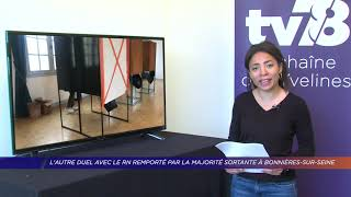 Yvelines | L'autre duel avec le RN remporté par la majorité sortante à Bonnières-sur-Seine